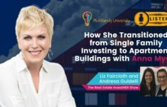 How She Transitioned from Single Family Investing to Apartment Buildings with Anna Myers