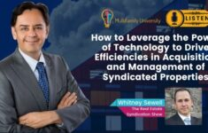 How to Leverage the Power of Technology to Drive Efficiencies in Acquisition and Management of Syndicated Properties