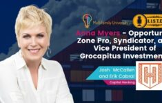 Anna Myers - Opportunity Zone Pro, Syndicator, and Vice President of Grocapitus Investments