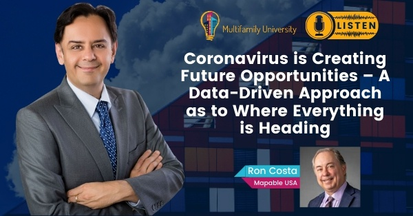 Coronavirus is Creating Future Opportunities – A Data-Driven Approach as to Where Everything is Heading - Podcast Banner