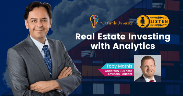 Real Estate Investing with Analytics - Podcast Banner
